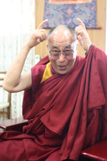 adam's pic of dalai lama