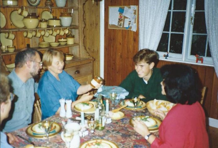 Christmas visit from Rita and Goran