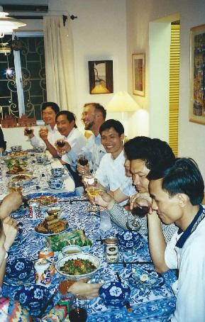 dinner hanoi
