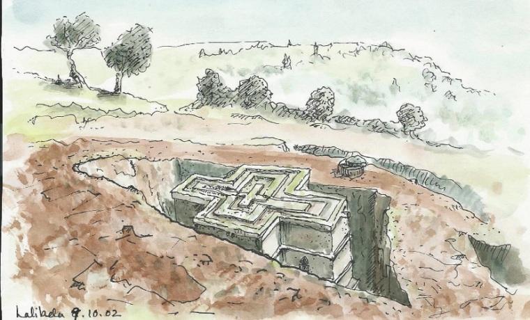 ethiopia sketch