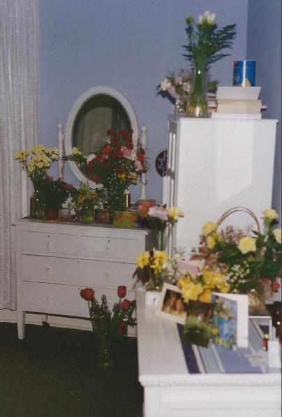 flowers mum room