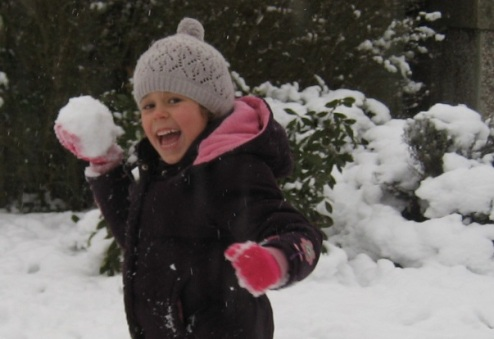 linnea and snow
