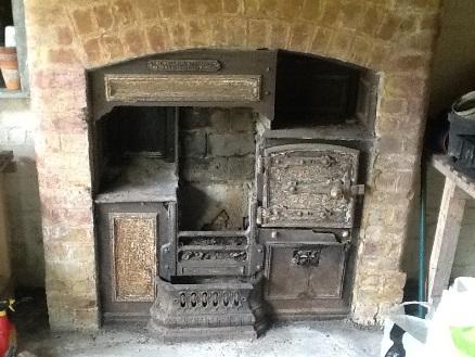 oven in farmhouse