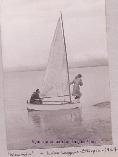 sailing on lake langano
