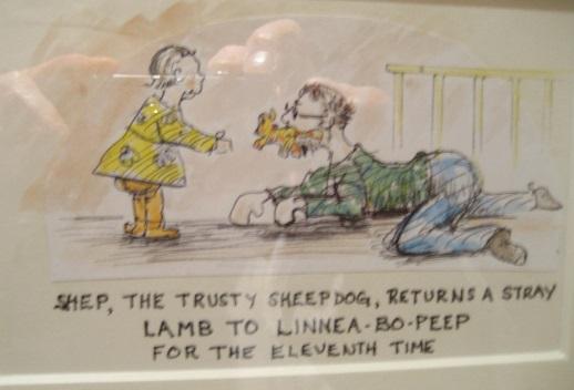 shep the trusty dog